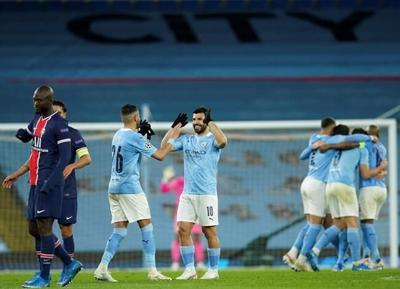 Man City ousts PSG to reach first Champions League final