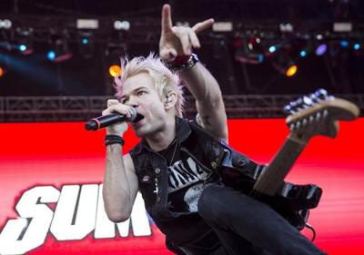 'I tried to fight it': Sum 41's Deryck Whibley on giving in to Trumpian lyrics