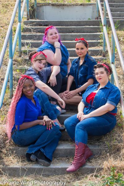 Rosie the Riveter lookalikes