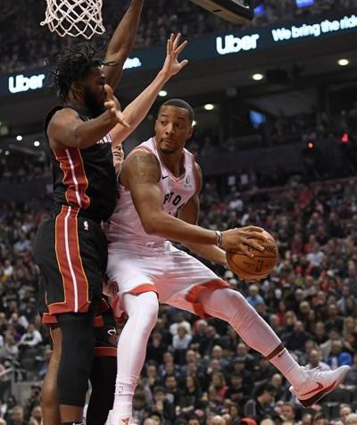 Powell's consistency, both starting and coming off bench, good sign for Raptors