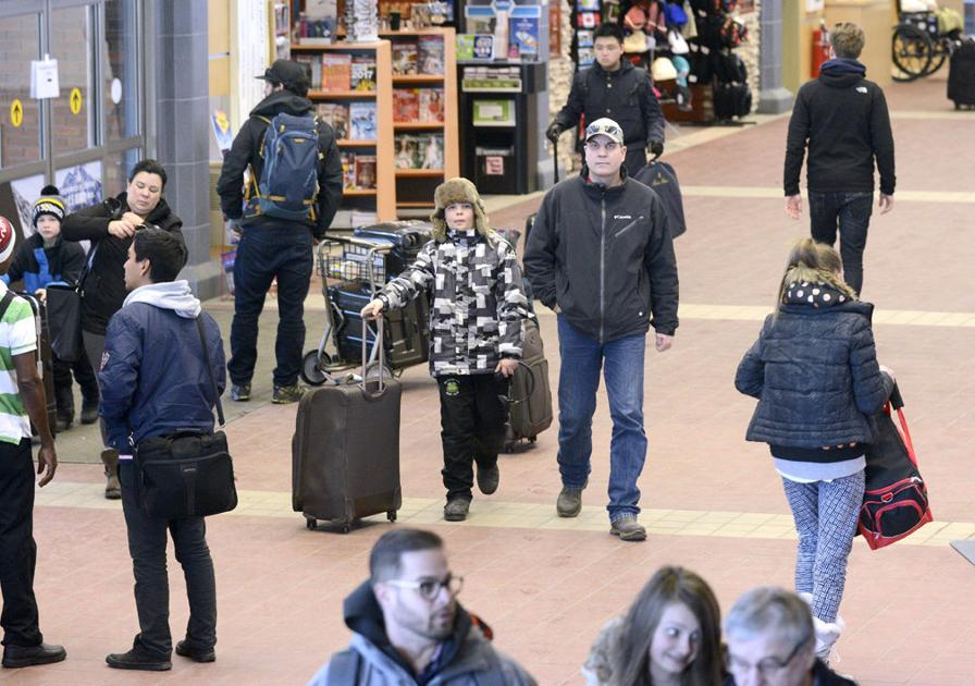 Passenger numbers dip at Kelowna airport   News - The Daily Courier