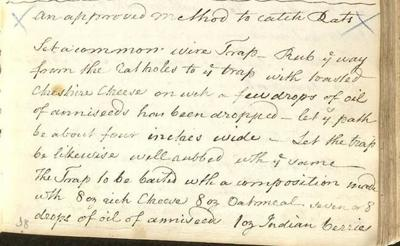 Recipe collection offers insight into 18th century life in the Maritimes