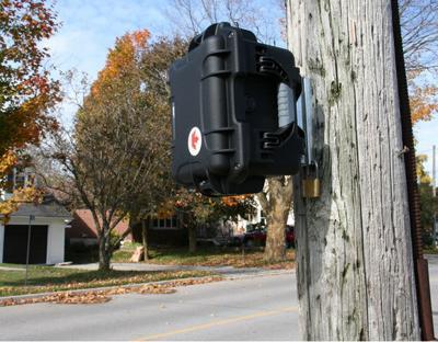 Black Cat Radar Monitor