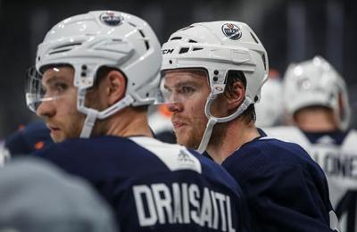 Connor McDavid cleared to practise as he rehabs knee at Oilers training camp