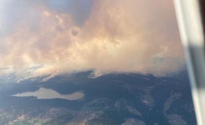 White Rock Lake fire