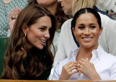 Halep star struck at meeting duchesses at Wimbledon