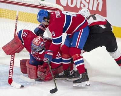 Habs down Sens 3-1 to snap 5-game winless streak; Ducharme earns 1st NHL coaching win