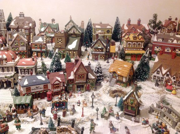 Charles Dickens Christmas Village