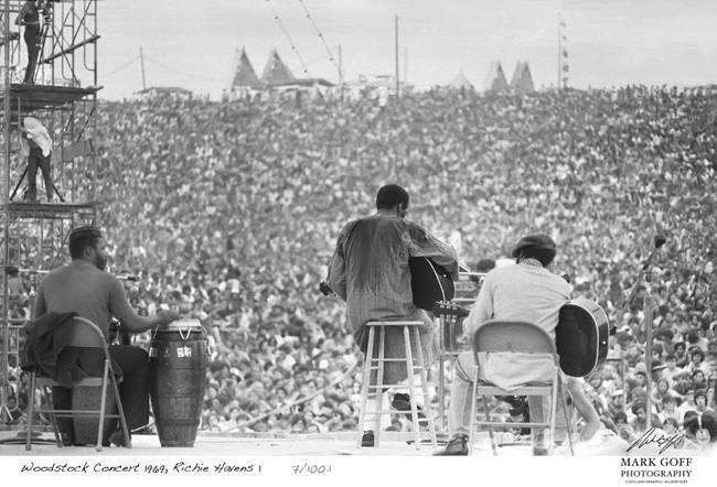 Woodstock photos are displayed for 1st time, 50 years later | World