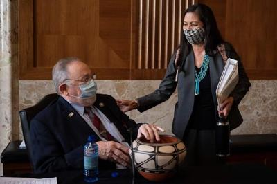 Interior nominee Haaland questioned on drilling, pipelines