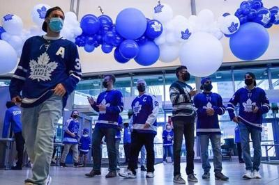 MLSE announces deal with TikTok, company's logo will feature on Leafs helmets