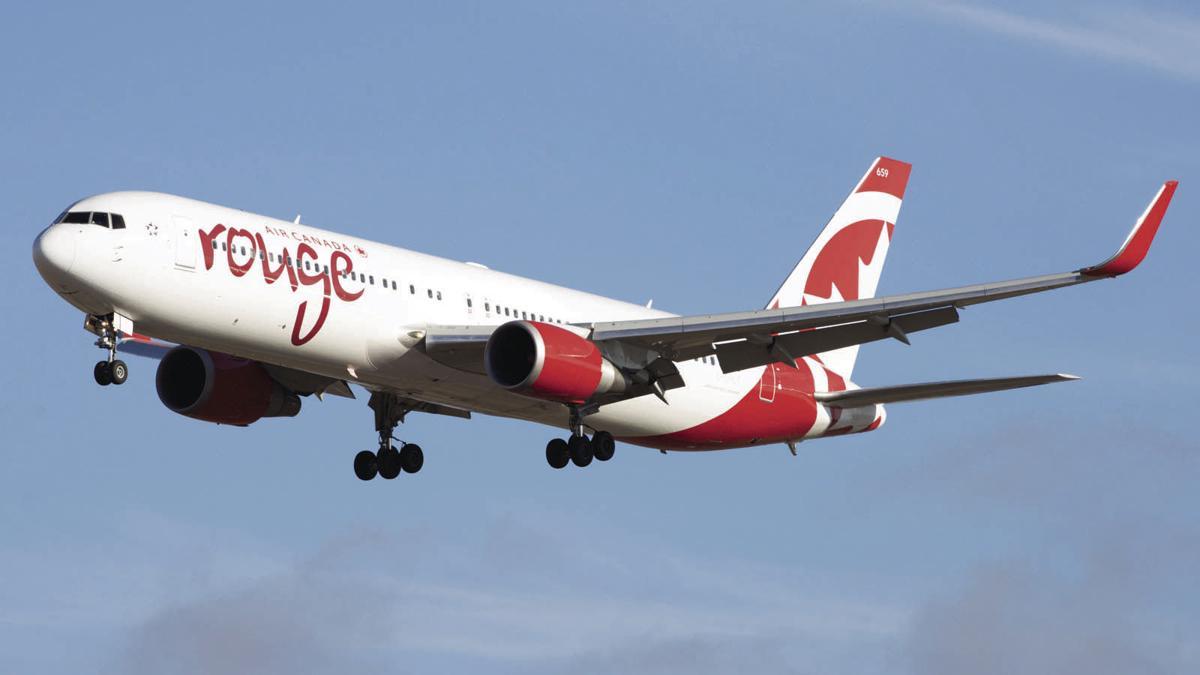 Largest plane to serve Kelowna