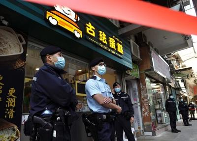 Lawyer, others arrested by Hong Kong national security unit