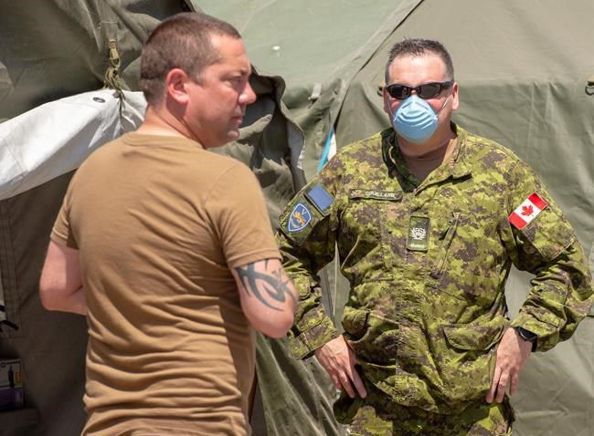 Feds look for exit amid talks with Quebec on keeping military in care homes