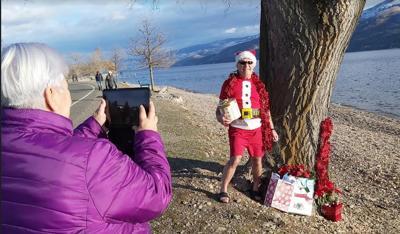 Santa in Peachland