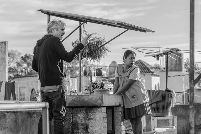 Mexico vies for best foreign film Oscar with Cuaron's 'Roma'