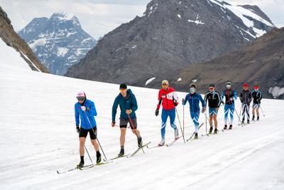 Telemark on Haig