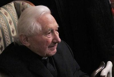 Retired pope's elder brother, Georg Ratzinger, dies at 96