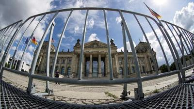 German charged with passing parliament floor plans to Russia
