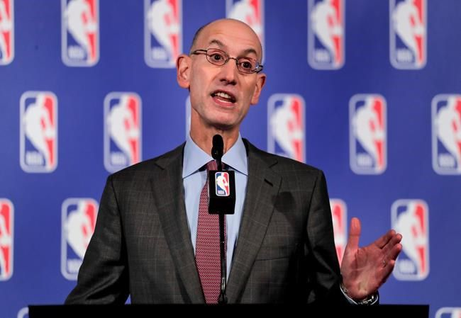 In terms of the anthem, Adam Silver expects National Basketball Association players to stand