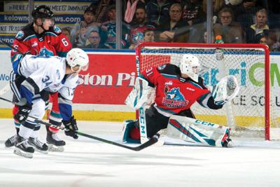 Victoria Royals at Kelowna Rockets