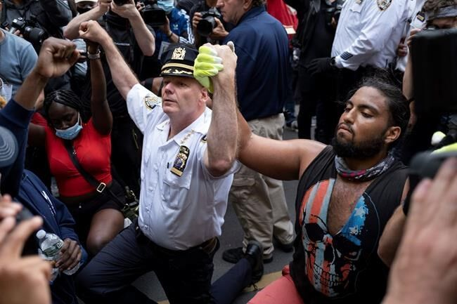 Protesters return to the streets as Trump decries 'lowlifes'
