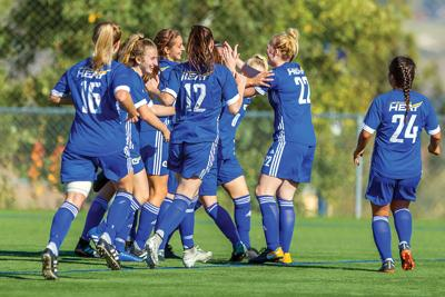 UBCO Heat women's soccer team