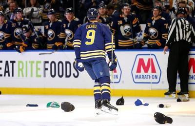 Eichel scores career-high 4 goals, Sabres top Senators 4-2