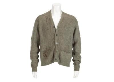 Kurt Cobain's 'Unplugged' sweater, guitar, head to auction