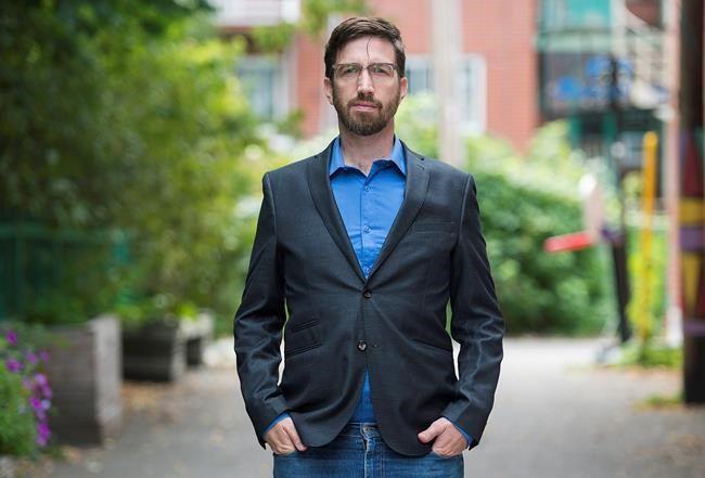 Bloc Pot Leader Hugo St-Onge outlines party's proposals for Oct. 1 election