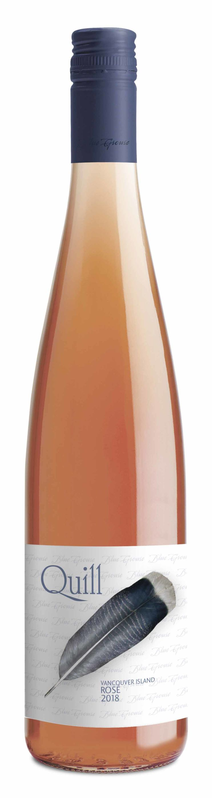 Blue Grouse Quill  Rose ($21)