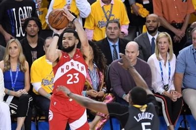Toronto Raptors point guard Fred VanVleet comes through in clutch