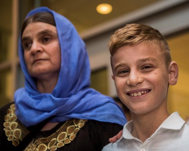 Yazidi boy reunites with mother in Winnipeg