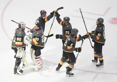 Vegas is back, baby: Golden Knights beat Stars to tie series