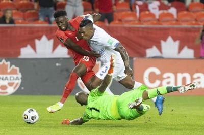Davies leads the way as Canada downs Panama in full-blooded World Cup qualifier