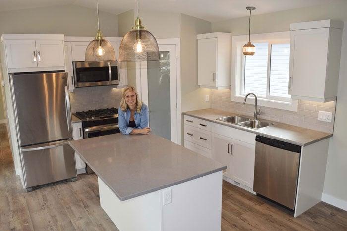 Micro house kitchen