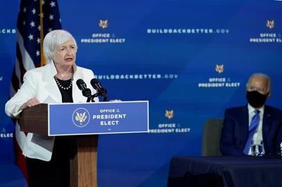 Yellen's Senate confirmation hearing set for Jan. 19