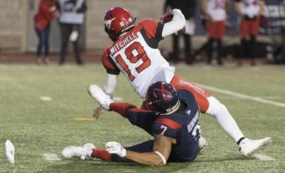 Veteran defensive end Bowman back in CFL playoffs with Montreal Alouettes