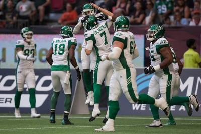 Saskatchewan Roughriders aim to bring home energy on the road to B.C. Lions