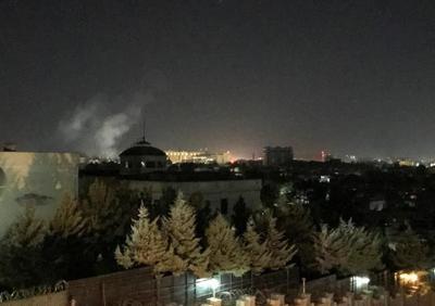 Rocket blast at US Embassy in Kabul on 9-11 anniversary