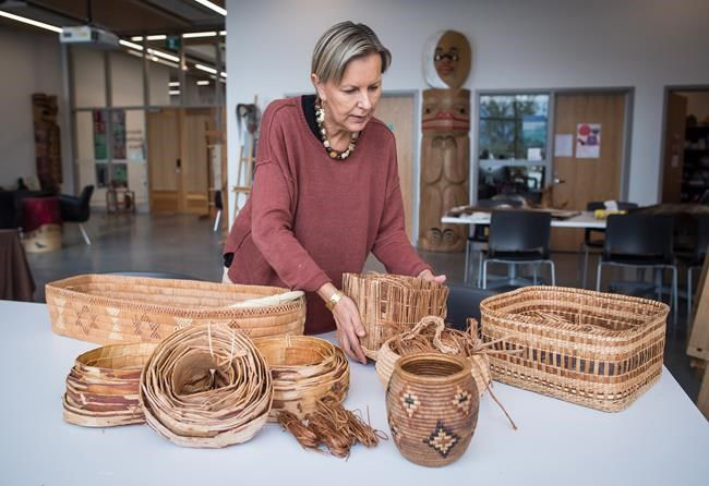Canada says B.C. Indigenous basket making an event of historic significance