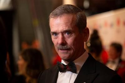 Retired astronaut Chris Hadfield draws from time in orbit to pen 'The Apollo Murders'