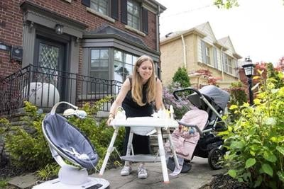 Hudson's Bay steps into booming resale marketplace with baby gear startup Rebelstork