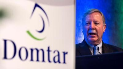 Domtar shares surge after producer acknowledges talks with Paper Excellence