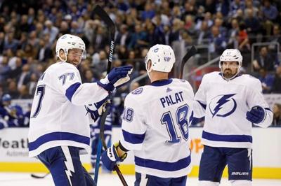 Tampa's top line combines for 11 points in Lightning's 7-3 win over Maple Leafs