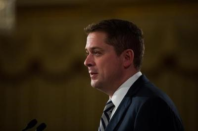 Scheer condemns woman filmed yelling racial slurs, spitting on man in Toronto