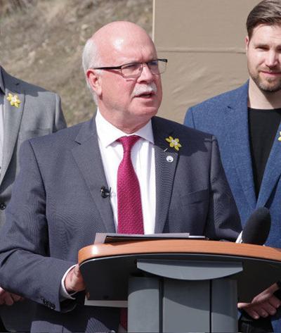 Mayor Gord Milsom