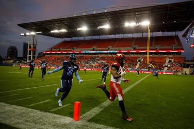 Mitchell, Calgary Stampeders continue their mastery of the Toronto Argonauts