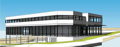 Proposed Westbank office complex