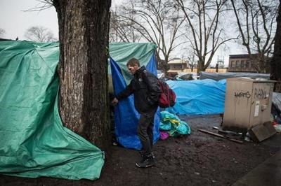 Vancouver homeless camp brings community, safety, home, says resident